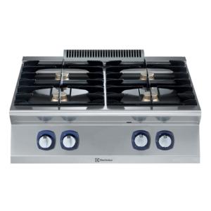Cucina 4 fuochi professionale serie 700