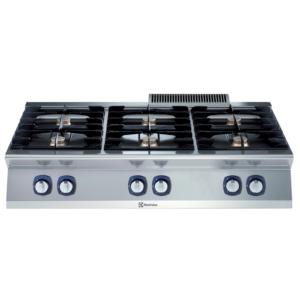 cucina 6 fuochi professionale serie 700