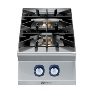 Cucina 2 fuochi professionale serie 900