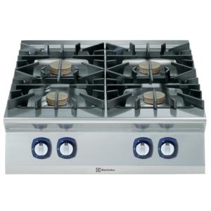 Cucina 4 fuochi professionale serie 900