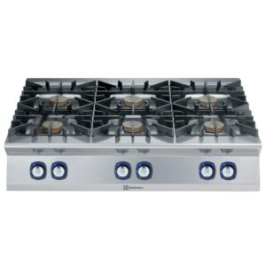 Cucina 6 fuochi professionale serie 900