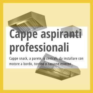 Cappe aspiranti professionali
