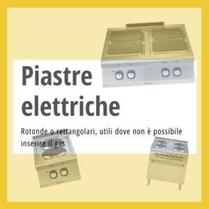 Piastre elettriche professionali