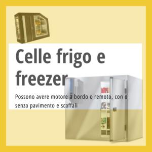 Celle frigorifere e freezer